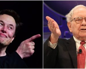 Elon Musk, Warren Buffett Spar After Berkshire Billionaire Disses Tesla