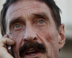 John McAfee Pledges to Expose Corruption in the US Government