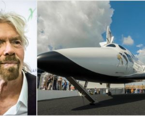 In Billionaire Space Race, Sir Richard Branson Takes the Lead