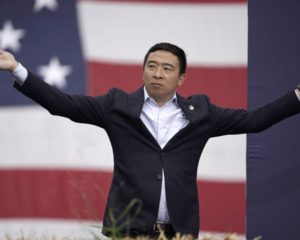 Andrew Yang Scores Endorsement from Former NFL Player Antonio Bryant