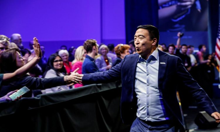 Andrew Yang Plays It Safe with 2019-20 NBA Predictions
