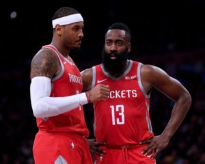 Why James Harden May Be Nothing More Than Carmelo Anthony 2.0