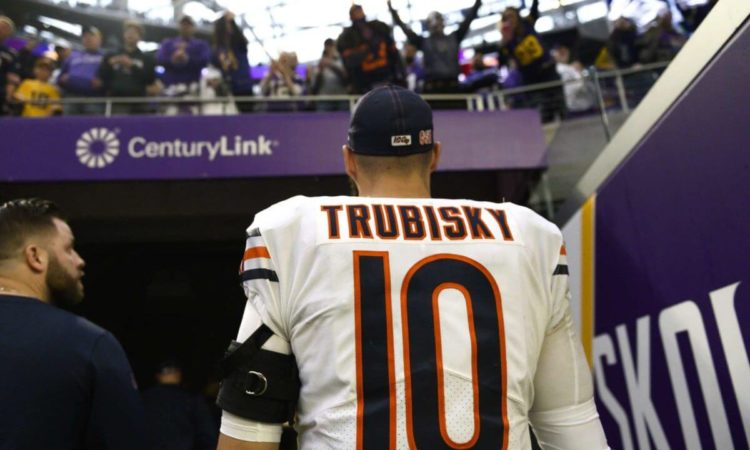 Chicago Bears Not Yet Willing To Admit Mitchell Trubisky Was a Terrible Mistake