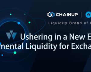 ChainUP's Bitwind Brand Ushers in a New Era of Incremental Liquidity for Exchanges
