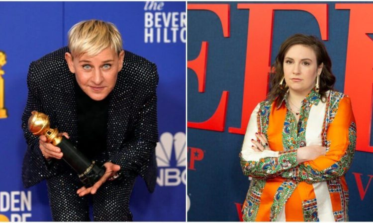 Ellen DeGeneres & Lena Dunham Lead the Top 5 Celebrity 'Karens'