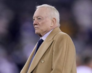 Jerry Jones Bloviates About 'Grace' – But All He Sees Are Dollar Signs