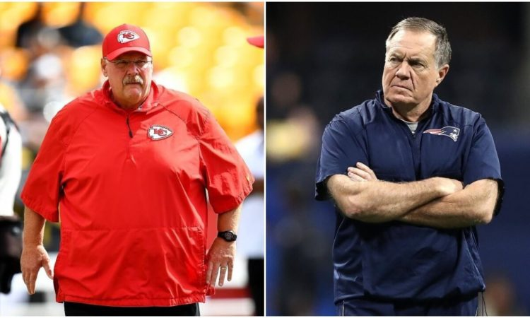Bill Belichick Already Sounds Nervous About Facing Reid and Mahomes